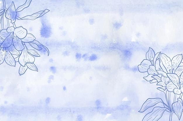 Conceito de papel de parede pastel em pó