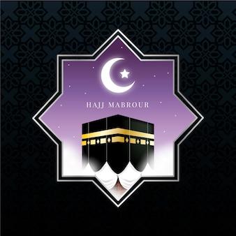 Conceito de peregrinação islâmica