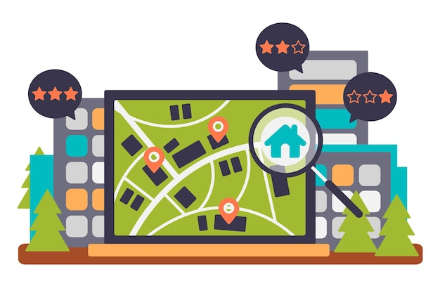 Conceito de pesquisa imobiliária