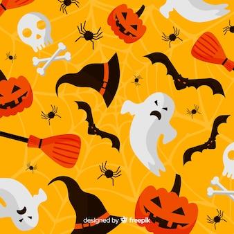 Conceito de plano de fundo de halloween