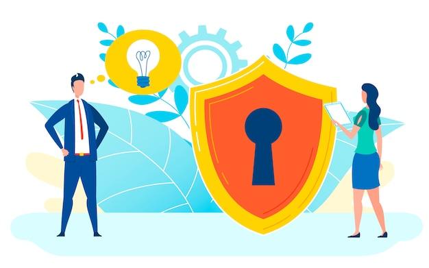 Conceito de proteção de dados plano