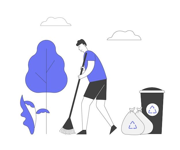 Conceito de proteção ecológica