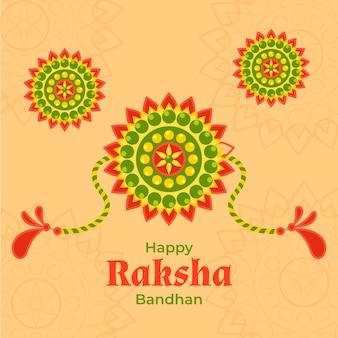 Conceito de raksha bandhan plana