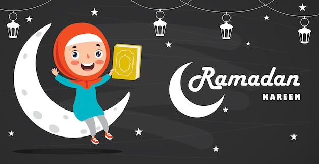 Conceito de ramadan kareem e cultura islâmica
