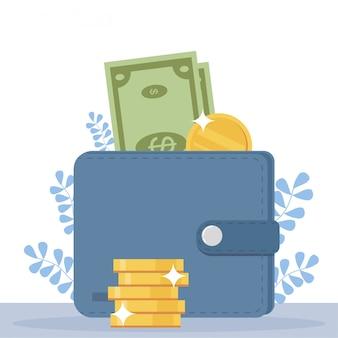 Conceito de recompensa on-line. pessoas felizes recebem dinheiro da tela do smartphone.