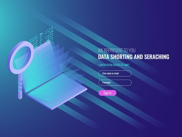 Conceito de repositório de código, catálogo eletrônico, pesquisa de dados, otimização de seo