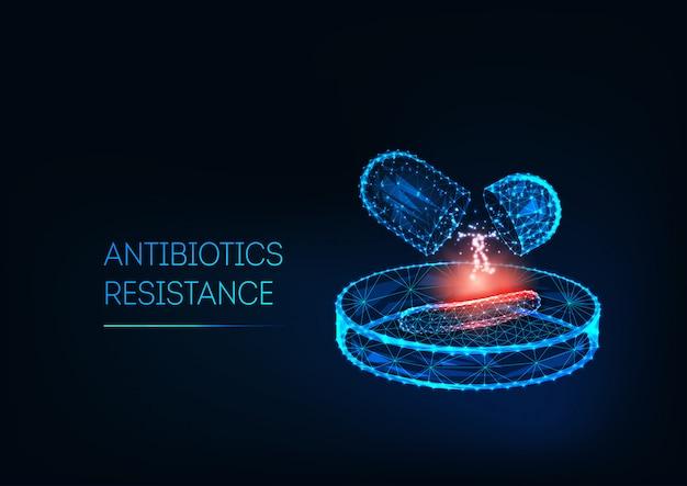 Conceito de resistência a antibióticos