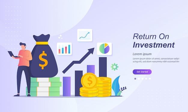Conceito de retorno do investimento