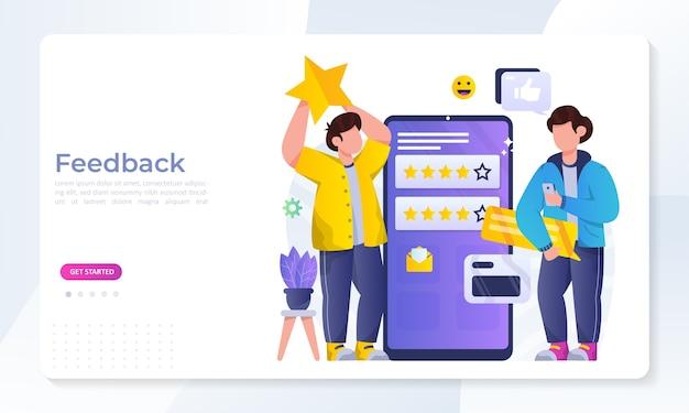 Conceito de revisão de feedback