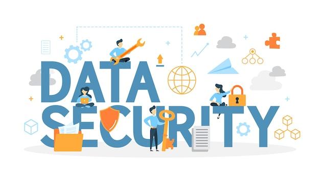 Conceito de segurança de dados.