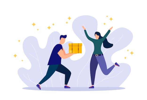 Conceito de serviço de entrega online entrega em casa e no escritório scooter de caminhão de armazém courier