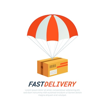Conceito de serviço de entrega