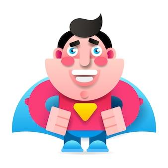 Conceito de super-heróis