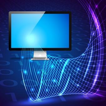 Conceito de tecnologia digital