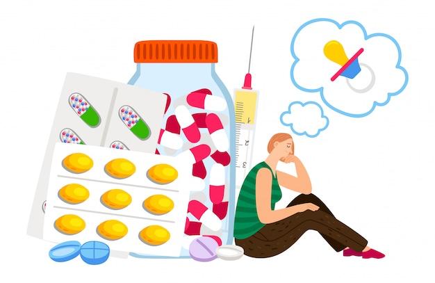 Conceito de tratamento de fertilidade