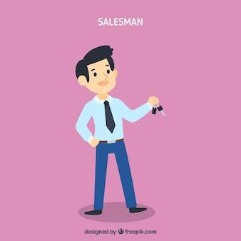 Conceito de vendedor