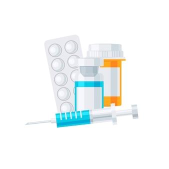 Conceito de vetor de medicina