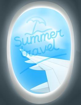 Conceito de vetor de viagens de verão