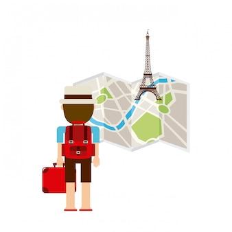 Conceito de viagem