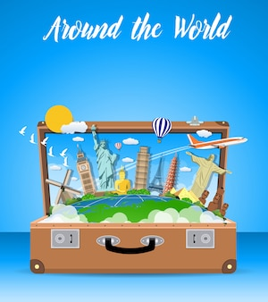 Conceito de viagens e férias