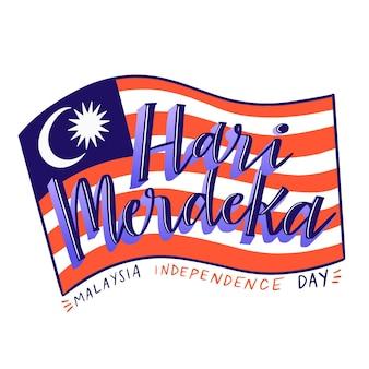 Conceito do dia da malásia