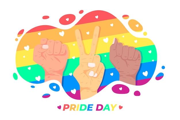 Conceito do dia do orgulho