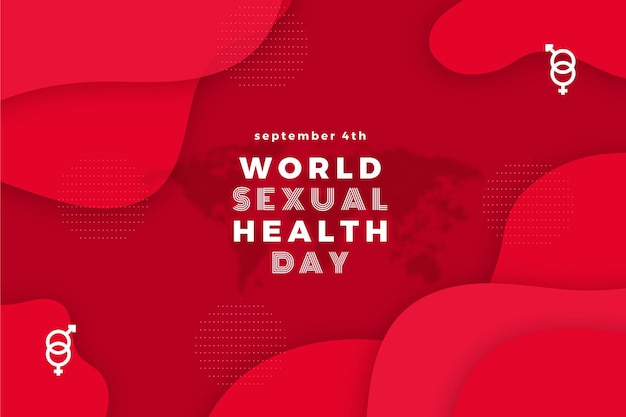 Conceito do dia mundial da saúde sexual