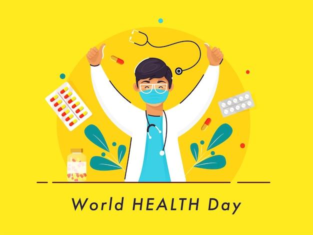 Conceito do dia mundial da saúde
