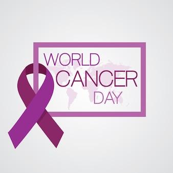 Conceito do dia mundial do câncer