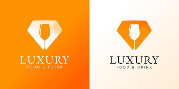 Conceito do logotipo do restaurante ilustrações do chef