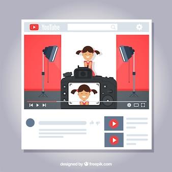 Conceito do youtube
