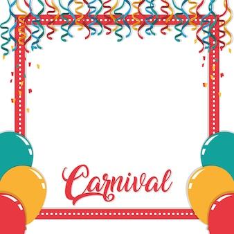 Conceito festival de carnaval