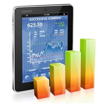 Conceito financeiro - ganhar dinheiro na internet