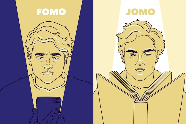 Conceito fomo vs jomo