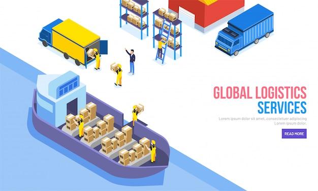 Conceito global de serviços de logística