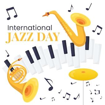 Conceito internacional do dia do jazz