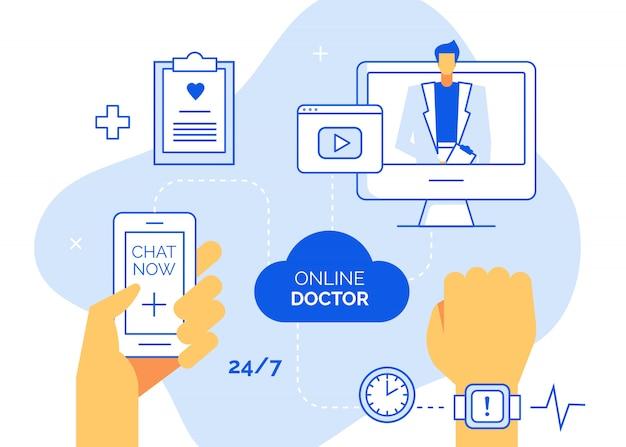 Conceito médico on-line