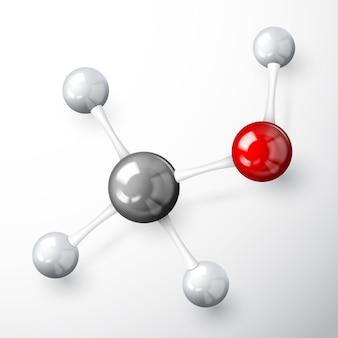 Conceito modelo de molécula
