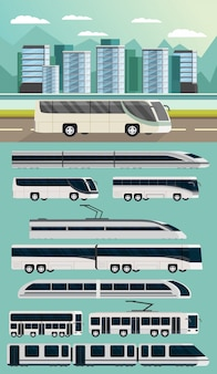 Conceito ortogonal de transporte público
