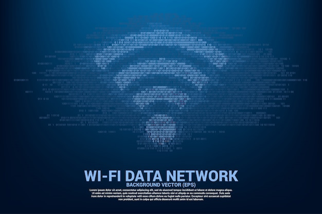 Conceito para transferência de dados de rede de dados móvel e wi-fi.