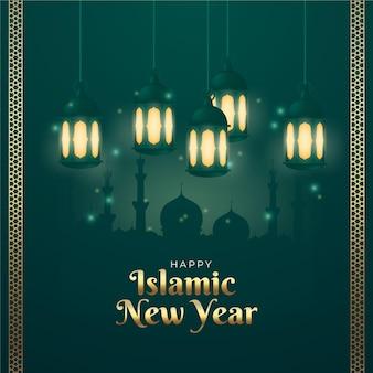 Conceito realista do ano novo islâmico