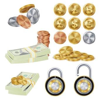 Conceito seguro de dinheiro