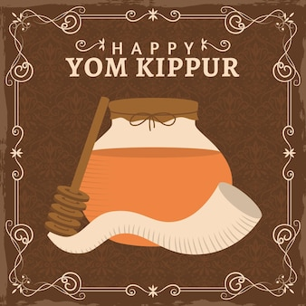 Conceito vintage yom kippur