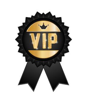 Conceito vip com design de ícone