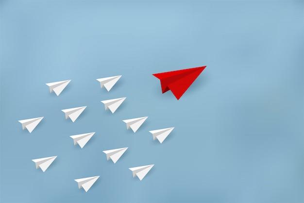 Conceitos financeiros de negócios estão competindo por objetivos corporativos e de sucesso