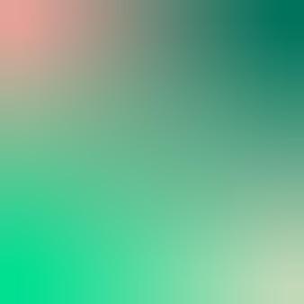 Concha de vieira, verde geafoam, verde floresta, papel de parede gradiente, ilustração vetorial