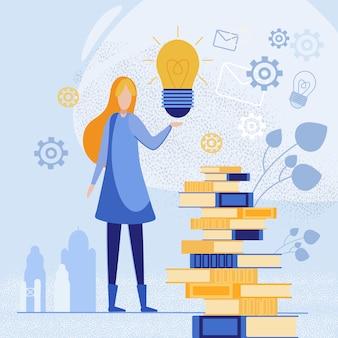 Concurso de ideias de livros.