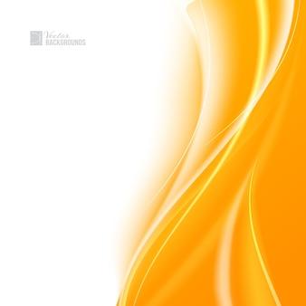 Concurso luz laranja abstrato.