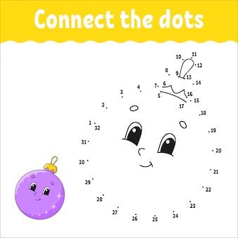 Conectar os pontos bola de natal