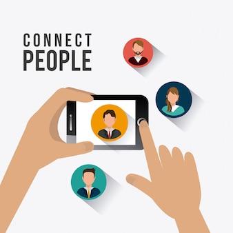 Conecte o design das pessoas.